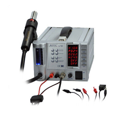 Aoyue 768 Plus PCB Soldering Work Station SMD rework with DC Power Supply