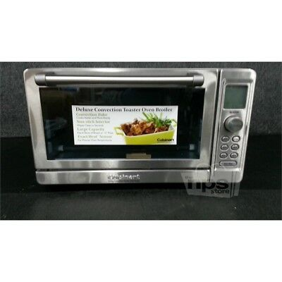 toaster reviews deluxe oven convection broiler cuisinart tob