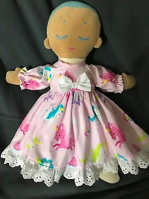 Dolls Clothes - Long Sleeved Dress Made to Fit Lulla Doll