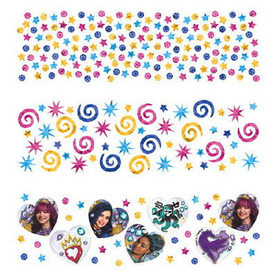 DESCENDANTS 2 CONFETTI VALUE PACK (3 types) ~ Birthday Party Supplies Decoration