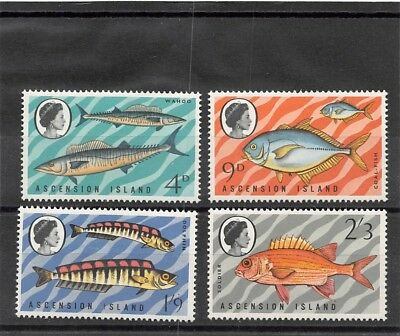 Lot of 4 Ascension MH Mint Hinged Stamps Scott # 130 - 133 #111089 X
