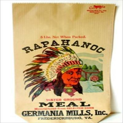 5  Rapahanoc Water Ground Meal Bags  Germania Mills,  Inc. 5 lb.