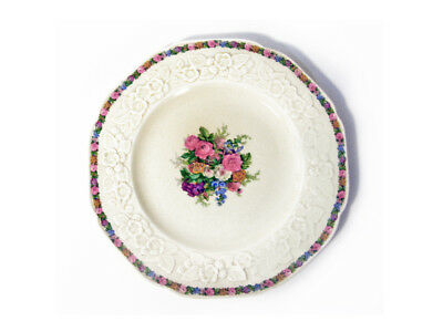 """Vintage 1929 Crown Ducal Gainsborough England Luncheon Plate 9"""" Wide 8 Available"""