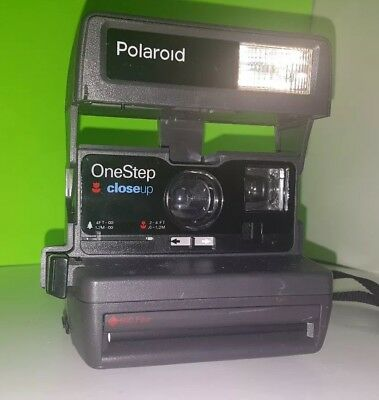 Tested - Polaroid One Step Close Up 600 Instant Film Camera - Free Shipping