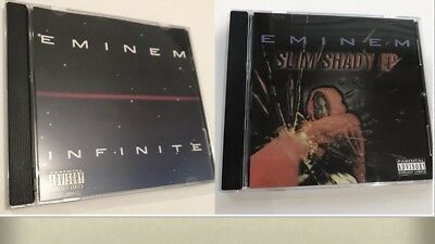 Eminem Infinite 2016 Re Issue Collectors CD Rare + Slim Shady EP Re Issue 2017