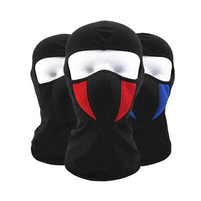KQ_ Outdoor Motorcycle Full Face Mask Balaclava Ski Neck Black Protection Dulcet