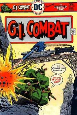 G.I. Combat (1957 series) #188 in Very Good + condition. FREE bag/board