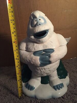 "2002 Rudolph and the Island of Misfit Toys Enesco Cookie Jar ""BUMBLE"" 104539"