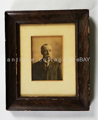 antique ORIGINAL DR. ROBERT BARANY PHOTOGRAPH wood frame NOBEL PRIZE colwin med