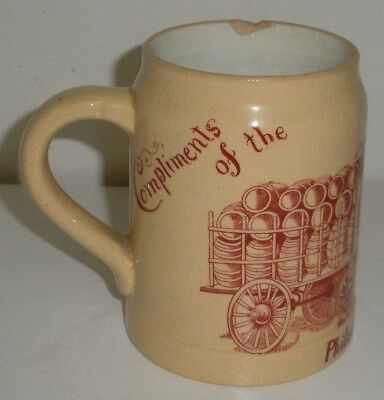 Compliments of the Beer Drivers Union 132,Philadelphia 1913, Beer Stein / Mug