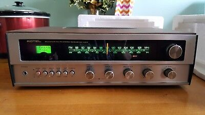 ROTEL RX-402 A Vintage Stereo Receiver Integrated Amplifier FANTASTIC  Condition!