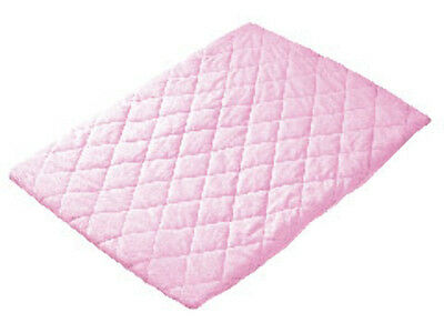 Playette Quilted Travel Cot Padded Sheet - Pink