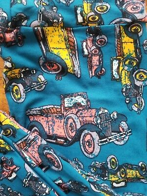Lularoe OS Leggings,Old Timey Cars,Vintage Cars, Antique Cars,New Without Tags