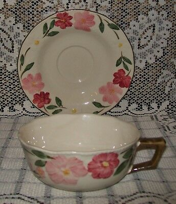 LOVELY VINTAGE 'CAMEO FLORALS' CUP & SAUCER (*not set*) Malaysia
