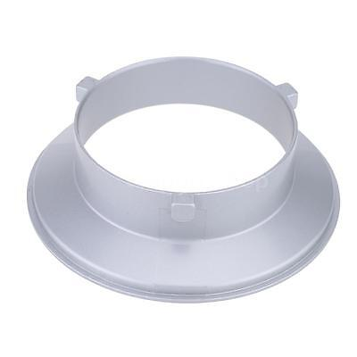 Godox 144mm Diameter Mounting Flange Ring Adapter Hood for Flash Speedlite US
