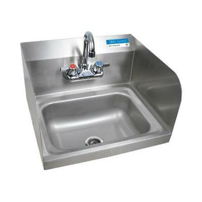 BK Resources - BKHS-W-1410-SS-P-G - Wall Mount Hand Sink