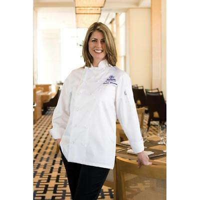 Chef Works Elyse Women's Chef Coat Jacket - White - All Sizes