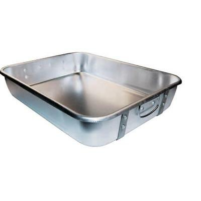 Winco - ALRP-1824 - 18 in x 24 in Aluminum Roasting Pan