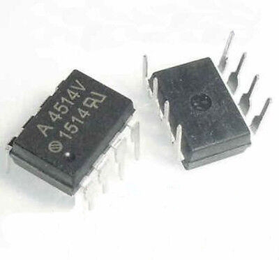 10 Pcs HCPL-4514V Encapsulation DIP-8 Single Channel High Speed Optocouplers