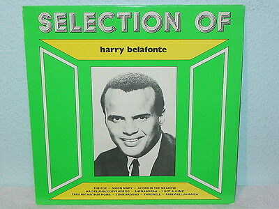 "***HARRY BELAFONTE""SELECTION OF HARRY BELAFONTE""-12""Inch Interdisc Records LP***"
