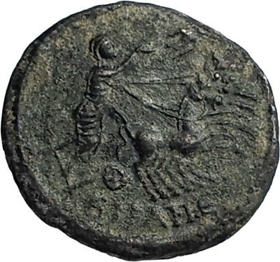 CONSTANTINE I the Great CHARIOT to GOD HAND in HEAVEN Ancient Roman Coin i67120