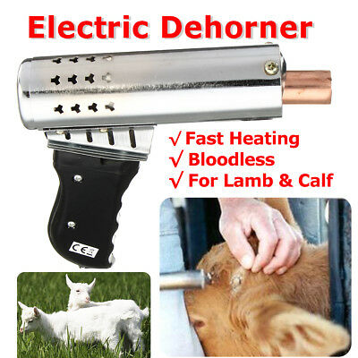 500W Iron Electric Fast Heating Cattle Head Dehorner Chamfer Bloodless Calf Lamb