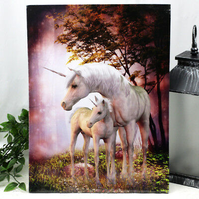 Pink Unicorn Wall Canvas (A)