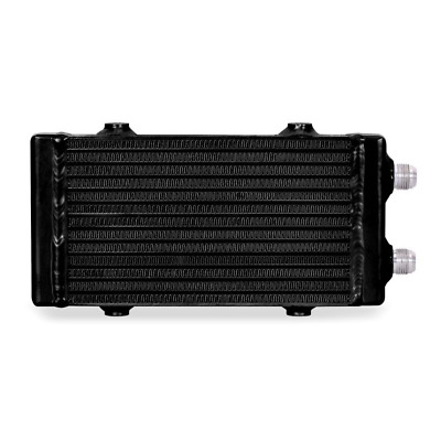 Mishimoto Universal Dual Pass Bar & Plate Oil Cooler Small - Black