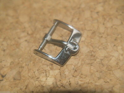OMEGA ORIGINAL 16mm STAINLESS STEEL WATCH STRAP BUCKLE O/S
