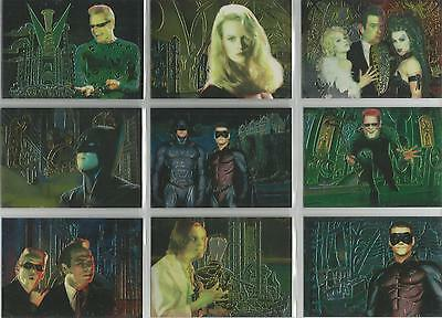 "Batman Forever (Fleer Ultra) - ""Animaction"" Set of 10 Chase Cards #1-10"