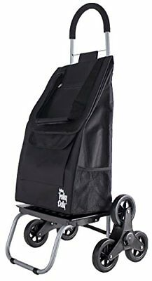 Trolley Dolly Stair Climber Black Grocery Foldable Cart Condo Apartment