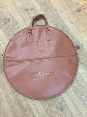 """Istanbul 20"""" Leather Style Vintage 30th Anniversary Drummers/Cymbal bag"""