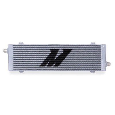 Mishimoto Universal Cross Flow Bar & Plate Oil Cooler Large - Silver