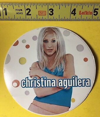 Christina Aguilera - Promotional Sticker