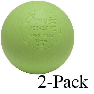 Champion Lacrosse Ball NFHS NCAA Mobility Massage Therapy-GREEN (2-Pack)