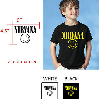 Nirvana Toddler T-Shirt Ages 2T - 5/6