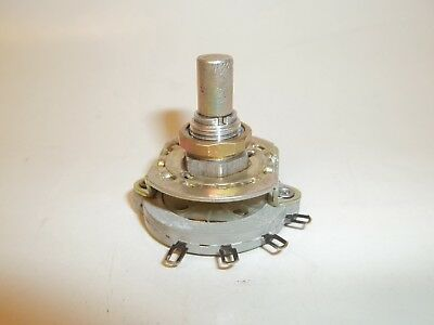 4 Position 1 Pole Rotary Switch, SP4T CTS 5P5277, 3 Speed fan, Wafer 35-375-2 FS