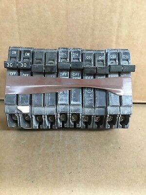 GE Double Pole 30 Amp Breaker THQP230 ( sold in bundle of 5)