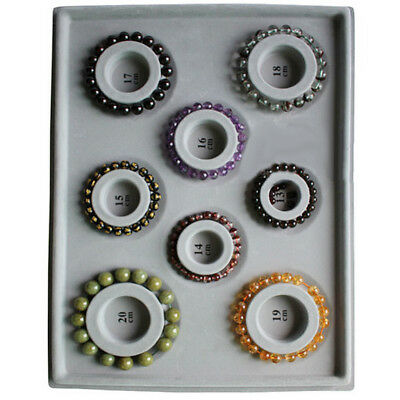 Bracelet DIY Measure Tool Necklace Bead Gray Disk Style Plate Jewelry Making