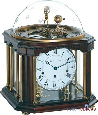 Hermle Tellurium III Clock with Dome with Stars 33% OFF MSRP 22948-Q10352