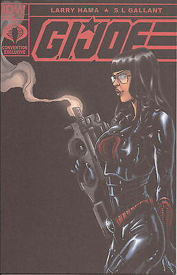 G I Joe ARAH #196-D IDW VA Comicon Baroness variant cover Painted Visions VF/NM