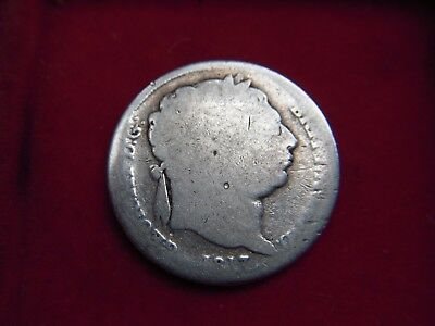 1817 George 111 Sixpence From My Collection [V65]