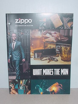 2016 Zippo Collection Catalog New Never Used
