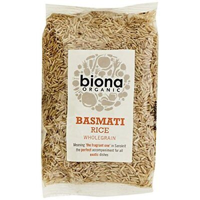 Biona Organic Basmati Brown Rice 500 g (Pack of 3)