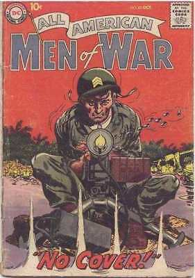 All-American Men of War #62 in Very Good condition. FREE bag/board