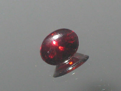 Rhodolite Garnet,2.2ct Red Garnet, Round top Oval cut 9.25 x 7.25 x 5 mm