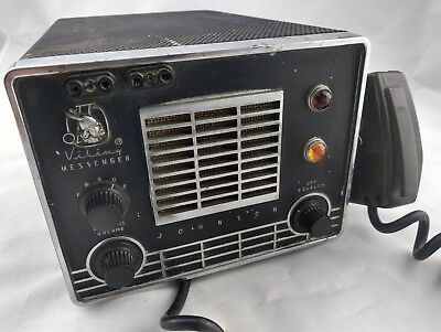 Vintage Johnson Viking Messenger CB Radio System - AS IS for Parts or Repair