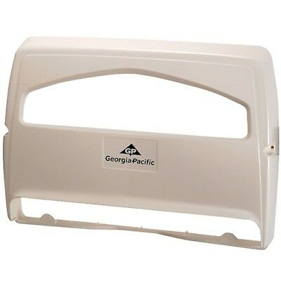ADA Compliant -- GP 57710 1/2-Fold Seatcover Dispenser,White, 10/cs
