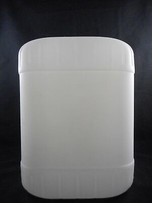 Laboratory Plastic HDPE 5 Galon Rectangular Carboy Container with 70mm Screw Cap
