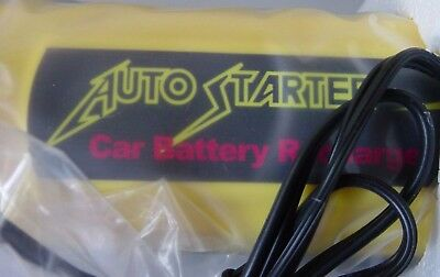 Portable AutoStarter Emergency Car Jump Starter Battery Recharger Power Source